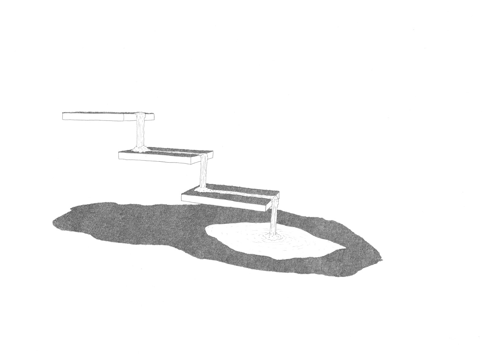 mickael lianza flatland piano nobile dessin drawing sculpture installation geneva art contemporain